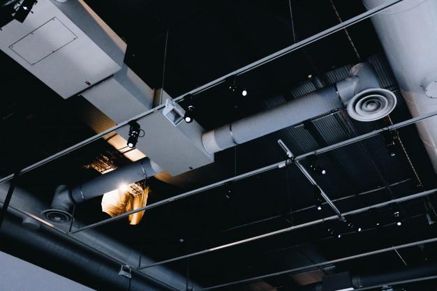 монтаж систем вентиляции