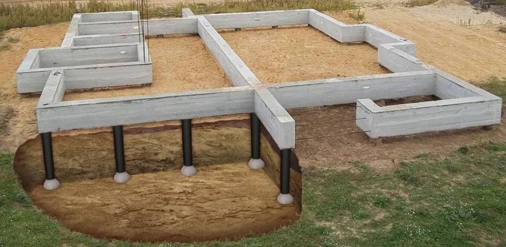 Выбираем фундамент под дом